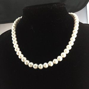 """16"""" Faux Pearl Necklace Pearl Necklace"""